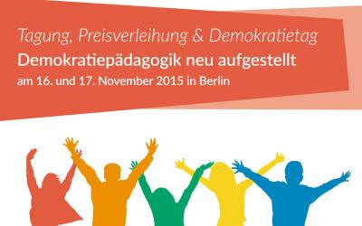 "Einladung ""Demokratiepädagogik neu aufgestellt"""