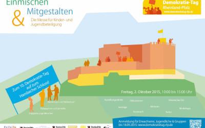 Zum 10. Demokratie-Tag auf zum Hambacher Schloss!